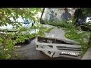 Жёсткая авария пассажирский автобус и микроавтобус, Севастополь, ул. Новоросси ...