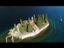 Aerial view of the Bay of Kotor, St George Monastery 2