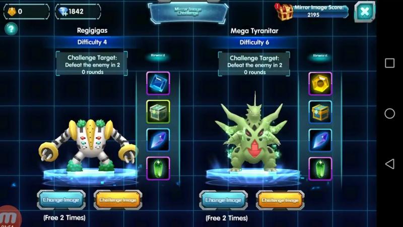 New Feature_ Support System! Regigigas, Mewtwo, Tyranitar