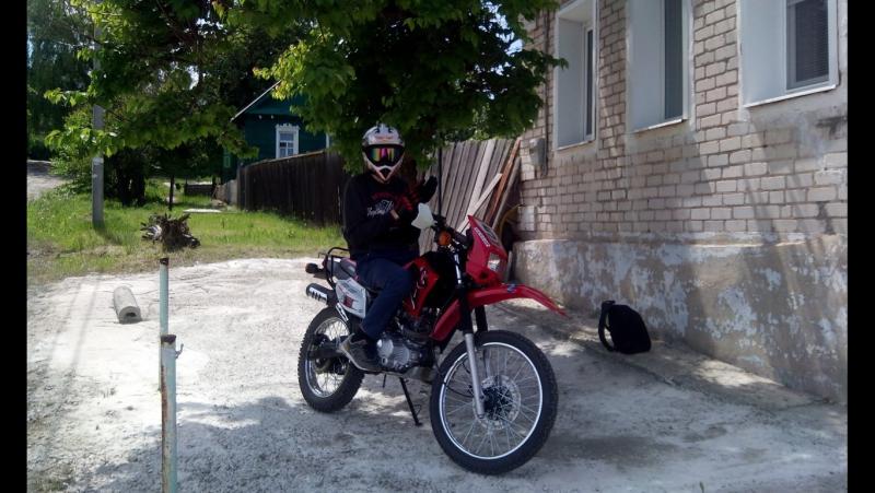 Не адекватное обозревание мотоцикла Lifan lf 200gy 5