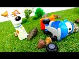 Грузовичок Лева! Машинки мультики и Тайная жизнь домашних животных! #МашинкаЛева потерял колесо!