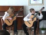 Дуэт-Полосухина Настя и Белоусов Юра. 2008г. г. Бийск-конкурс.