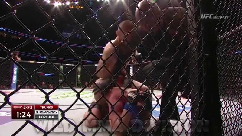 Khabib Nurmagomedov vs Darrell Horcher (Хабиб Нурмагомедов vs Даррелл Хорчер)
