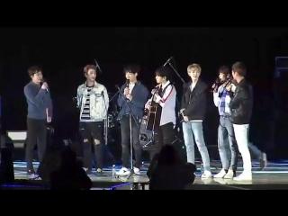 [выступление] 170428 day6 - im serious - talk - congratulations @ the 56th gyeongnam sports festival opening ceremony