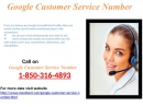 Google Customer Service Phone Number@1-850-316-4893: Anytime Ready for Your Help