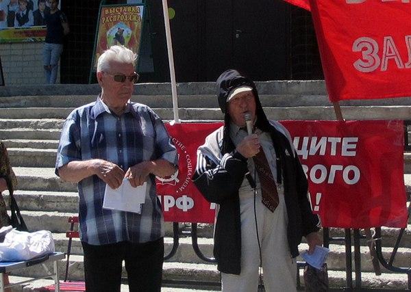 Митинг в Сызрани 16.07.2017