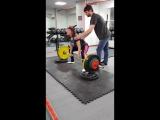 Сабина тяга 160 кг на 2 раза!