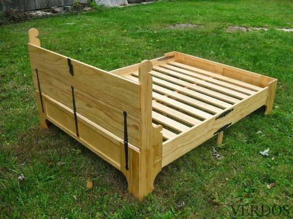 Складная кровать-суперкомпакт