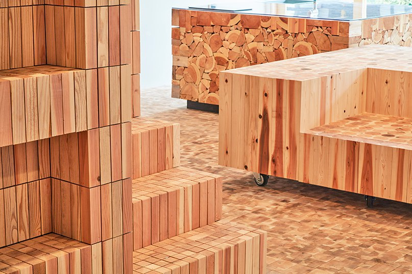 yamazaki kentaro design workshop gives new life to timber offcuts