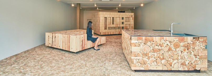 yamazaki kentaro design workshop gives new life to timber offcuts