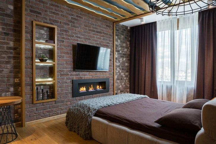 Квартира для молодого мужчины в Киеве (81 кв.