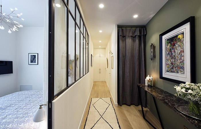 Современные апартаменты в Париже