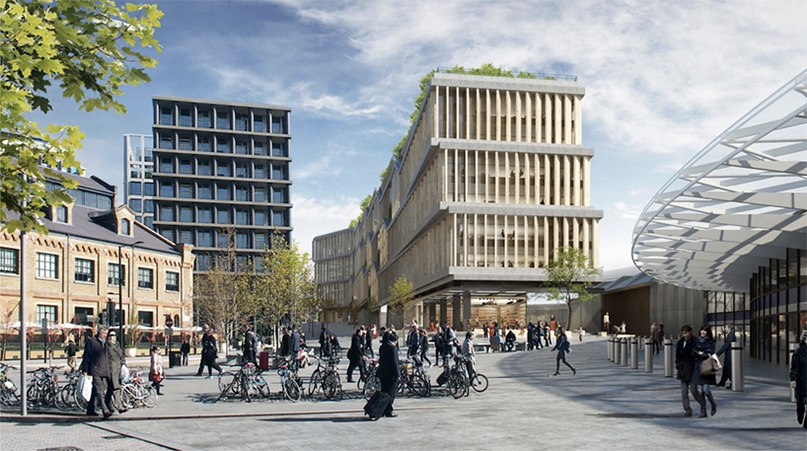 Google submits plans for London HQ designed by Heatherwick studio   Bjarke ingels group
