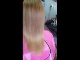 Кератиновое выпрямление и восстановление волос. Оксана Майская