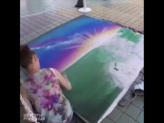 Чудесно рисует 💥