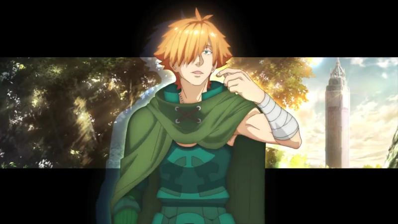 Тизер персонажа Робин Гуд аниме Fate/EXTRA Last Encore