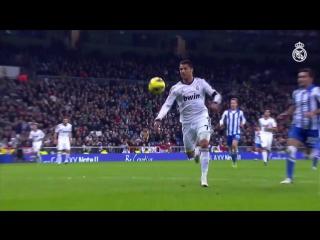 Cristiano Ronaldos goals against Real Sociedad at the Bernabéu