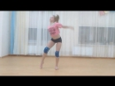 Элька и её гимнастический танец под песню Лифт - Пицца