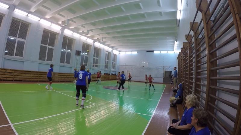 Волейбол часть 4 - 09.10.2017