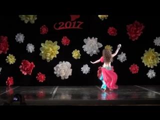 Daliya Dance Studio - Anastasia Sirotina 1st place DRUM SOLO at the Goddess of 14049