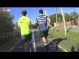 Пастор-атлет бегает по 100 км в день