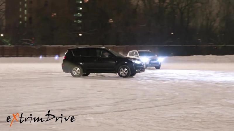 Зимний вальс. Танец автомобилей
