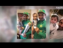 Sarfraz Ahmed with his Son And Wife in Oval ground after Winning Final