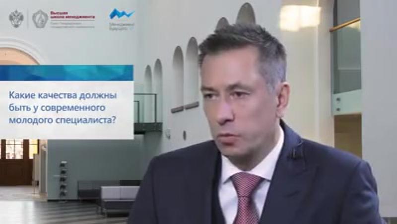 Дмитрий Конов, председатель правления ПАО «СИБУР Холдинг» для Высшей школы менеджмента