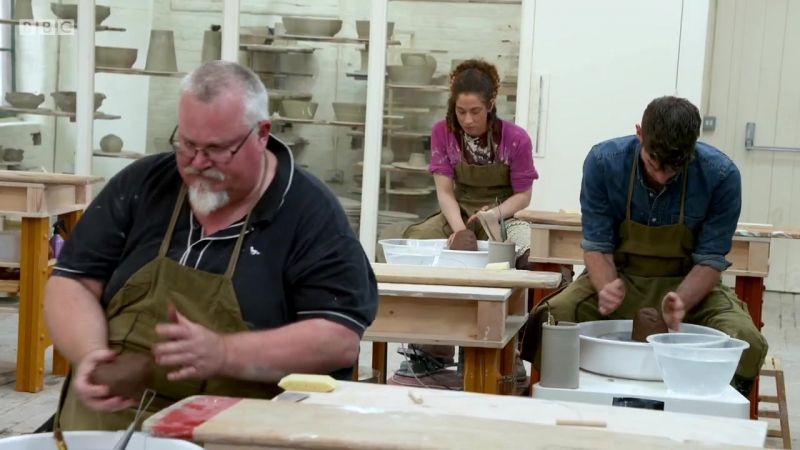 BBC2 The Great Pottery Throw Down Series 2 Episode 4