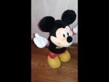 Видео обзоры игрушек - мягкая игрушка Микки Маус. Disnet soft toy Mickey Mouse