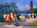 ♫ РЫЖИЙ КОТ МУРЛЫКА - Веселые детские песенки с субтитрами - Рыжий кот песня