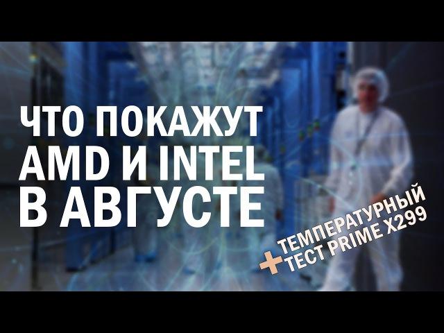 Большие планы Intel и AMD на этот август, квантовые компьютеры и температурный тест A...