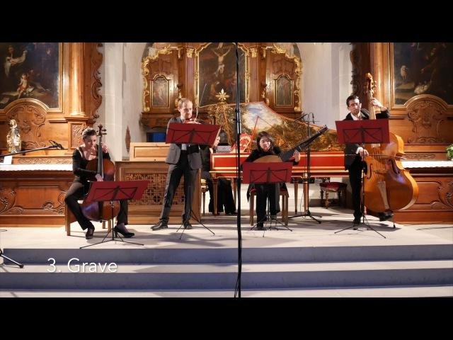Giovanni Benedetto Platti: Sonate en Si b Majeur - Les Plaisirs du Parnasse, David Plantier
