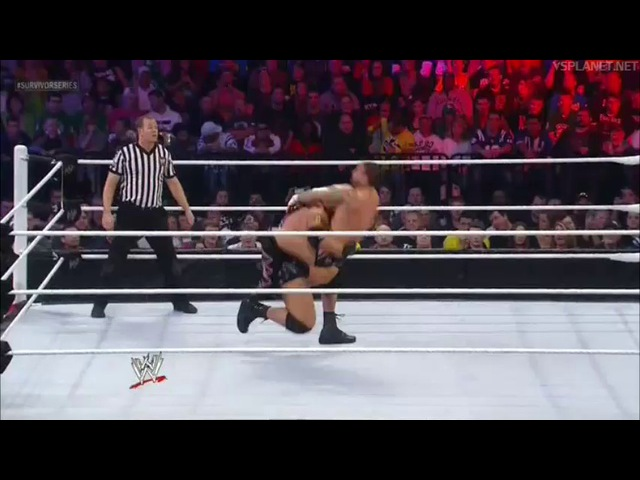 CM Punk vs John Cena vs Ryback - Survivor Series 2012