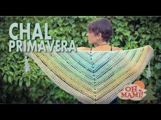 Chal Primavera a crochet