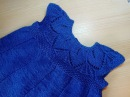 Платье с ажурной кокеткой CLARA DRESS спицами МК для начинающих 2 часть