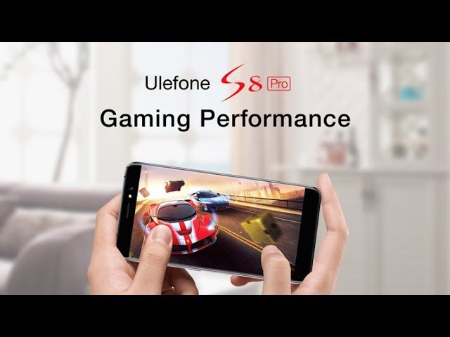 Ulefone S8 Pro Gaming Performance Test(Asphalt 8, Temple Run 2, Subway Surf)