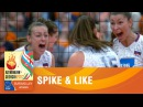 Spike and Like, introducing women's EuroVolley | EUROVOLLEY AZERBAIJAN AND GEORGIA 2017