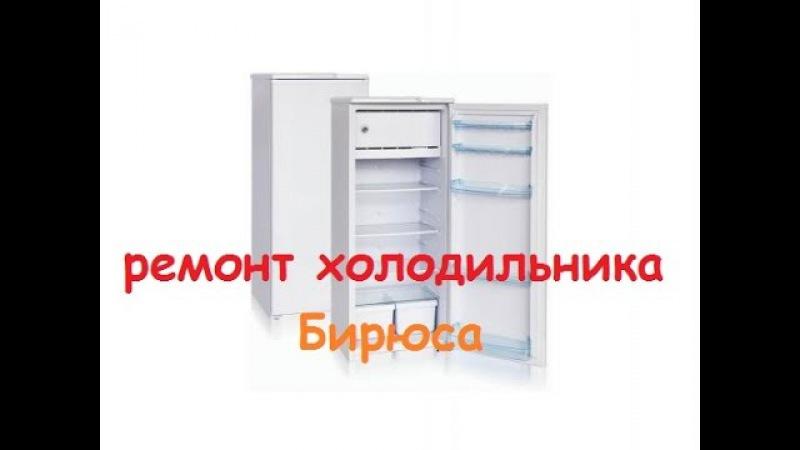 Ремонт холодильника бирюса 6