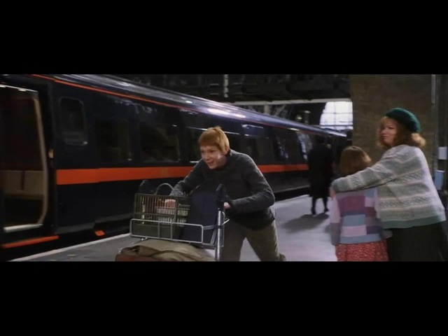 Travolta at the Platform Nine and Three-Quarters