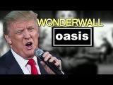 Donald Trump sings