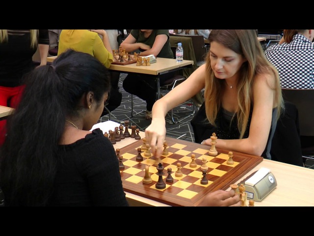 Highlights | European Women's Blitz Chess Championship | Monaco 2017