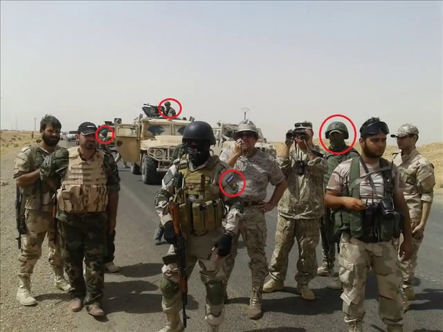 Русские в Сирии The PMC of the Russian Federation and the Russian army in Syria
