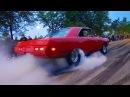 Muscle Car Paradise! - Vantaa Cruising 8/2017 (Smoky Burnouts!!)