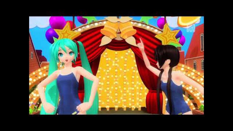 PS4FT リンリンシグナル Append Mix 初音ミク:スクール競泳 初音ミク 334