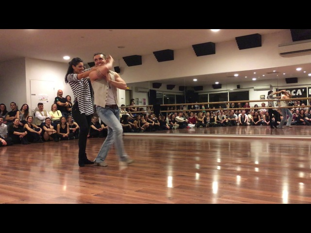 Diego Borges e Jessica Pacheco - West Coast Swing Sensual Improvisation at Med in Swing