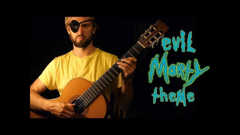 EVIL MORTY THEME - Rick And Morty Guitar Cover [For the Damaged Coda - Blonde Redhead]