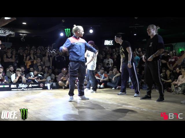 Killafornia Monsta Squad Vs Flow Mo | Top 16 | Freestyle Session 20 | Pro Breaking Tour