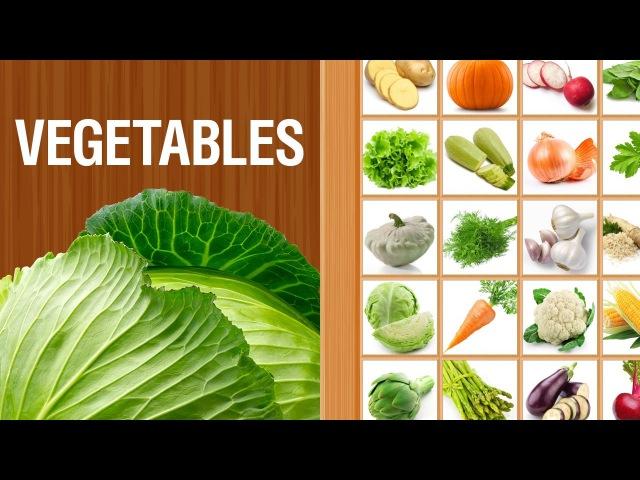 Овощи на английском языке | Для детей и начинающих