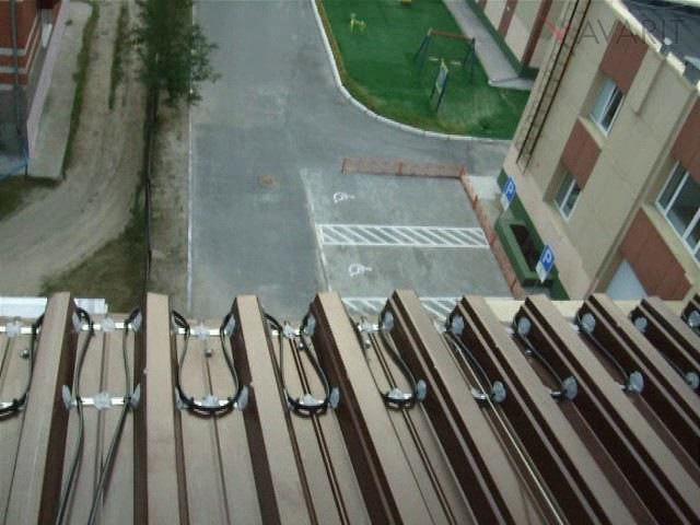 Обогрев крыши, школа, город Сургут